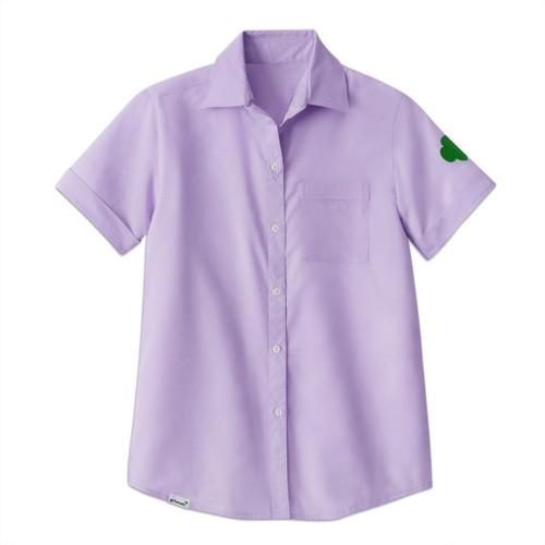 Lilac Chambray Camp Shirt