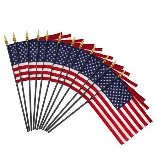 Hand-Held American Flag Set