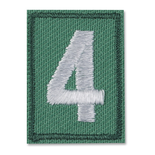 Girl Scout Troop Numerals