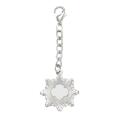 Silver Award Recognition Charm