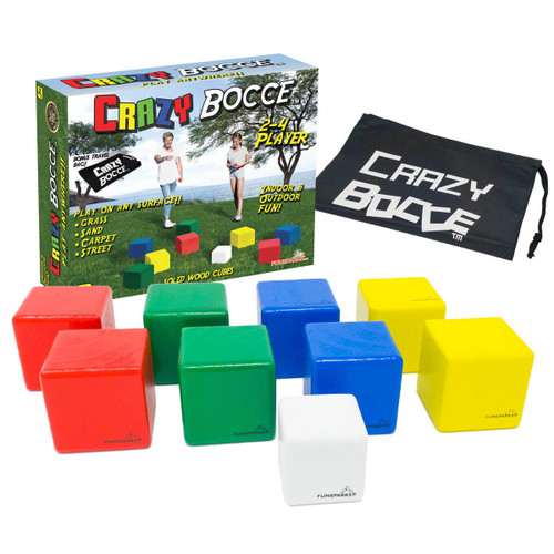 Crazy Cube Bocce Game Set