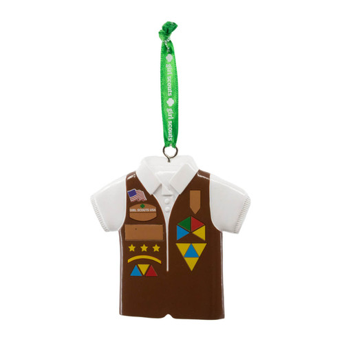 Girl Scout Brownie Vest Ornament