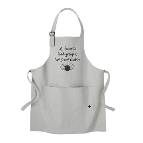 My Favorite Girl Scout Cookies Apron - Girls