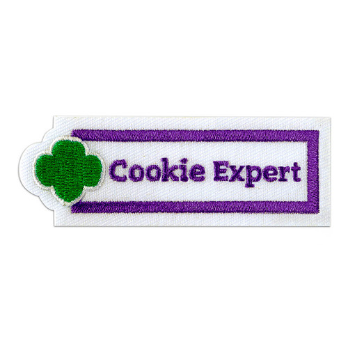 Cookie Expert Sew-On Adult Patch
