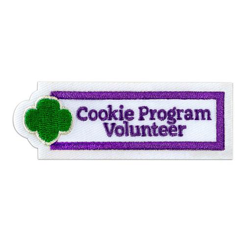 Cookie Volunteer Adult Patch