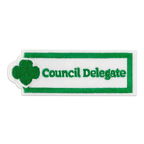 Council Delegate Adult Patch