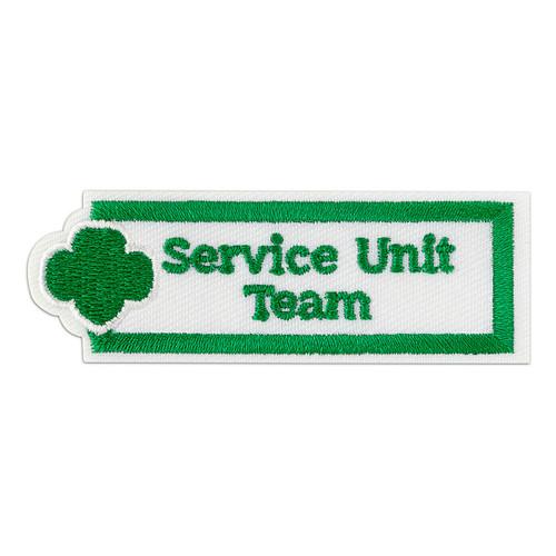 Service Unit Team Adult Patches