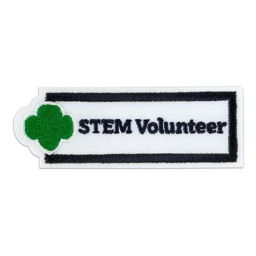 STEM Volunteer Sew-On Adult Patch