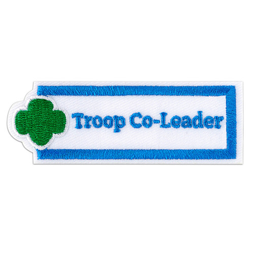 Troop Co-Leader Sew-On Adult Patch