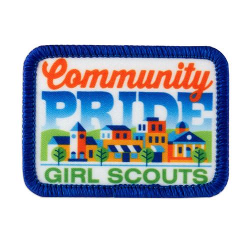 Community Pride Sew-On Patch