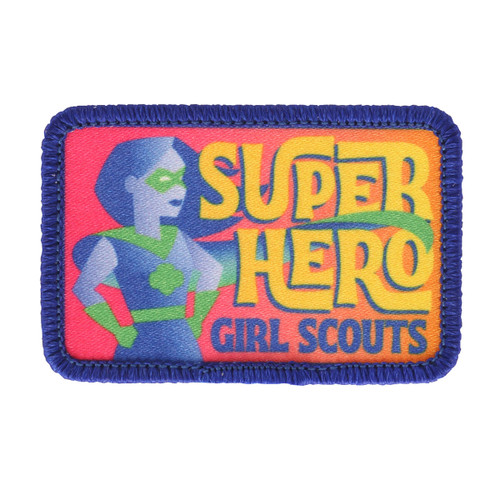 Girl Scout Superhero Patch