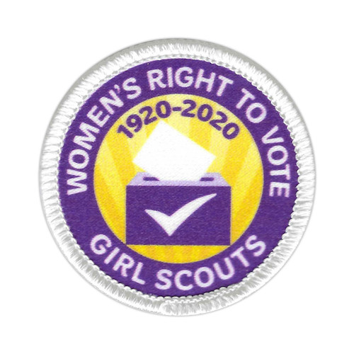 Women's Right to Vote Sew-On Patch