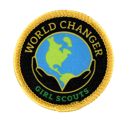 World Changer Sew-On Patch