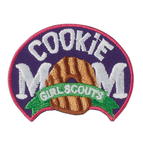 Cookie Mom Iron-On Patch