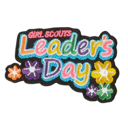 Leader's Day Flowers Iron-On Patch