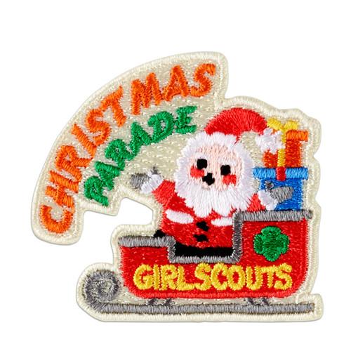 Christmas Parade Sleigh Iron-On Pat