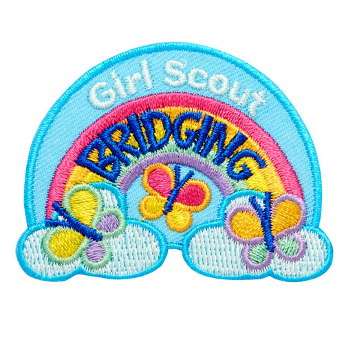 Girl Scout Bridging Iron-On Patch