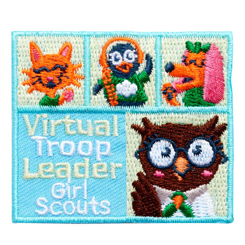 Virtual Troop Leader Iron-On Patch