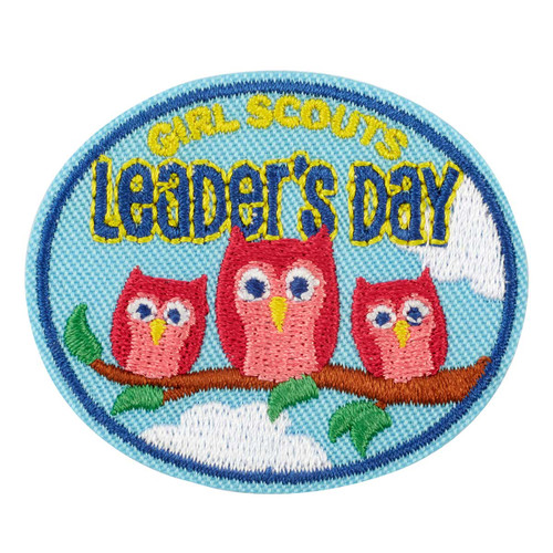 Leader's Day Owls Iron-On Patch