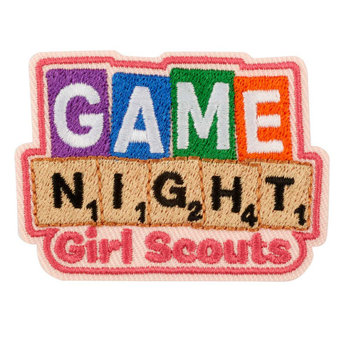 Game Night Iron-On Patch