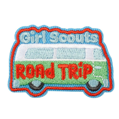 Road Trip Iron-On Patch