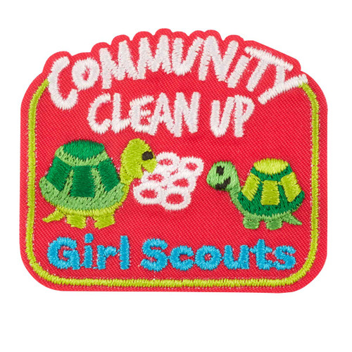 Community Clean Up Iron-On Patch