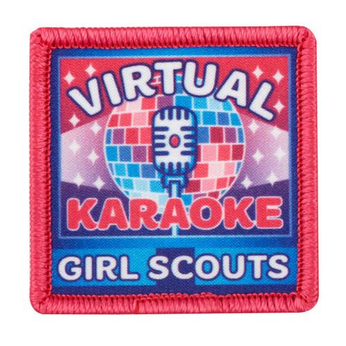 Virtual Karaoke Sew-On Patch