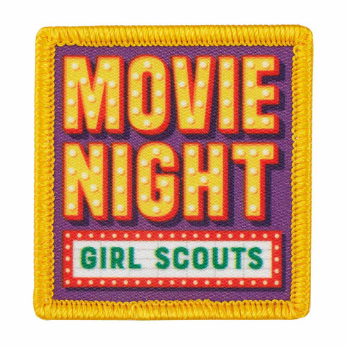 Move Night Sew-On Patch