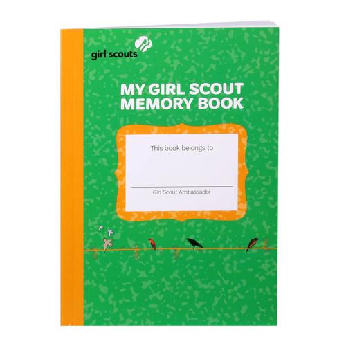 Girl Scout Ambassador Memory Book