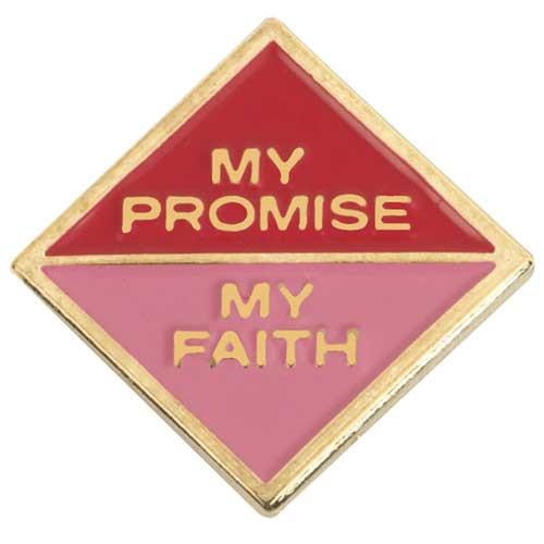 Cadette My Promise, My Faith Pin