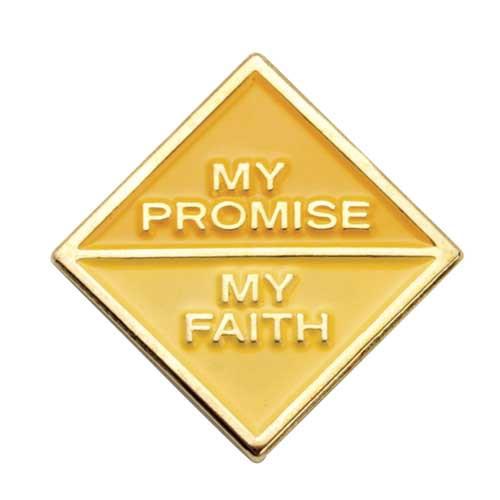 Ambassador My Promise, My Faith Pin