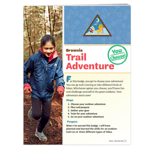 Brownie Trail Adventure Requirement