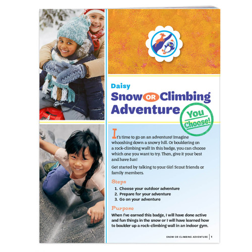Daisy Snow Or Climbing
