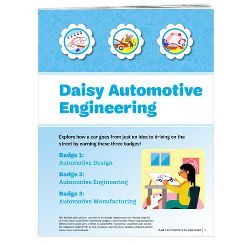 Daisy Automotive Engineering Badge