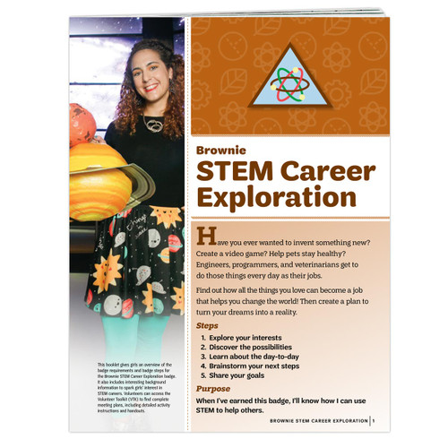 Brownie STEM Career Exploration