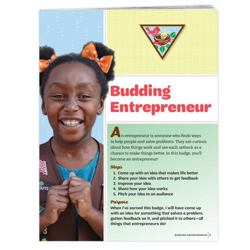 Brownie Budding Entrepreneur