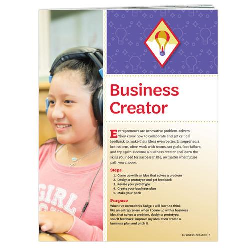 Cadette Business Creator