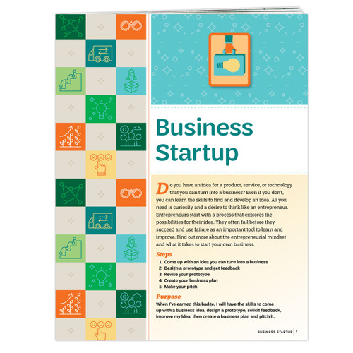 Senior Business Startup Booklet