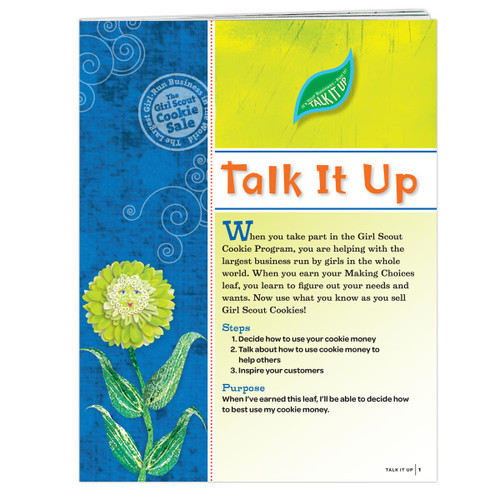 Daisy Talk It Up Badge Requirements