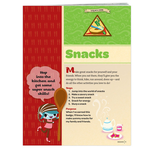Brownie Snacks Badge Requirements