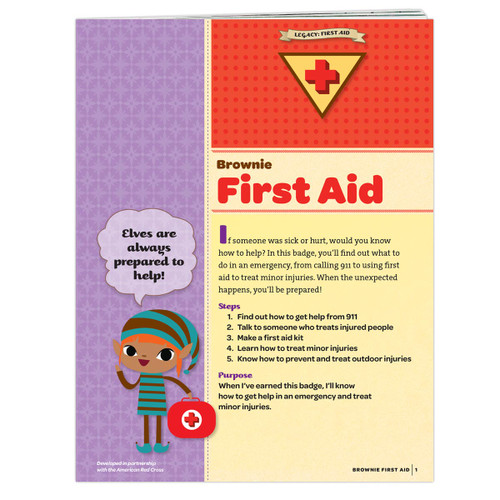 Brownie First Aid Badge Requirement