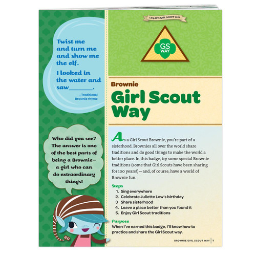 Brownie Girl Scout Way Requirement