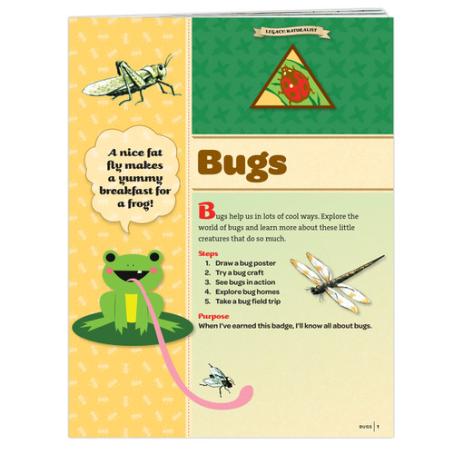 Brownie Bugs Badge Requirement