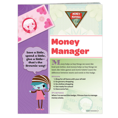 Brownie Money Manager Requirement