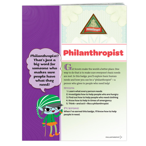 Brownie Philanthropist Requirement