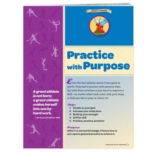 Junior Practice With Purpose Badge