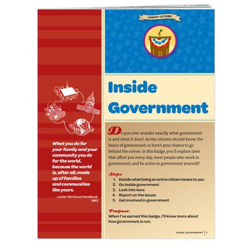 Junior Inside Government