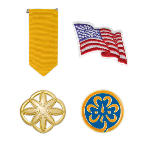 Girl Scout Daisy Insignia Pack