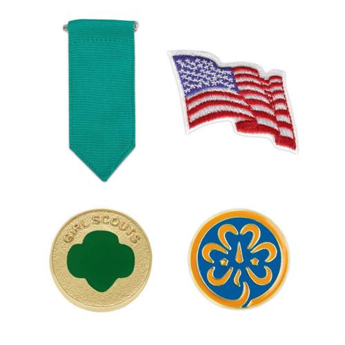 Girl Scout Junior Insignia Pack