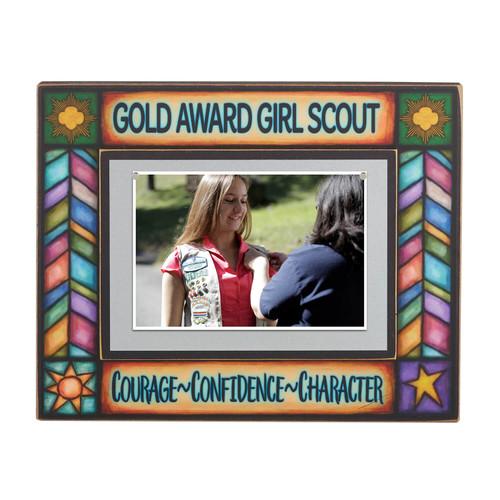 Gold Award Wood Photo Frame